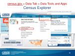 census gov data t ab data tools and apps census explorer