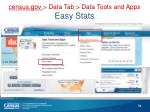 census gov data t ab data tools and apps easy stats