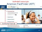 factfinder2 census gov american factfinder aff1