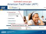 factfinder2 census gov american factfinder aff3