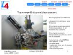 transverse emittance measurement