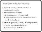 physical computer security