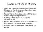 government use of military