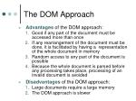 the dom approach1