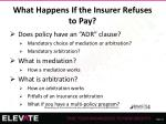 what happens if the insurer refuses to pay5