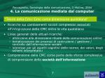 paccagnella sociologia della comunicazione il mulino 2004 4 la comunicazione mediata dal computer5