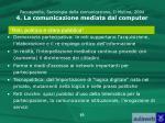 paccagnella sociologia della comunicazione il mulino 2004 4 la comunicazione mediata dal computer8