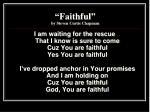 faithful by steven curtis chapman3