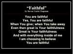 faithful by steven curtis chapman7