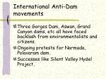 international anti dam movements