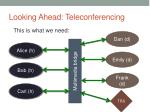 looking ahead teleconferencing2