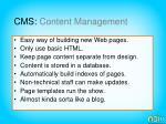 cms content management