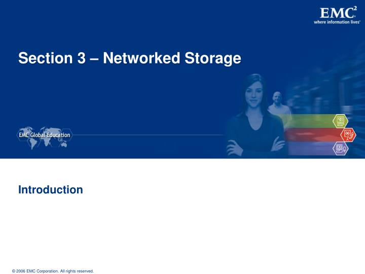 section 3 networked storage n.