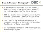 danish national bibliography