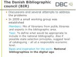 the danish bibliographic council bir