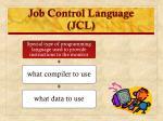 job control language jcl