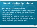 budget consideration adoption 22 44 110 c r s1