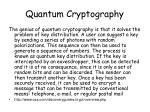 quantum cryptography1
