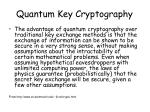 quantum key cryptography1