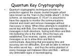 quantum key cryptography11