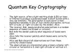 quantum key cryptography4