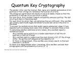 quantum key cryptography6