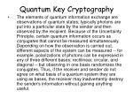 quantum key cryptography8