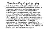 quantum key cryptography9
