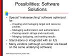 possibilities software solutions