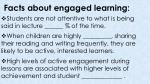 facts about engaged learning