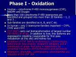 phase i oxidation1