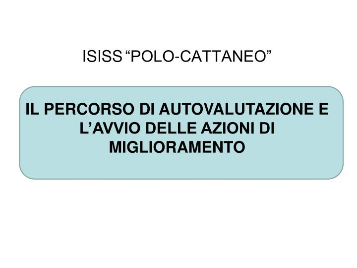 isiss polo cattaneo n.