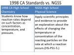 1998 ca standards vs ngss2