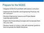 prepare for the ngss