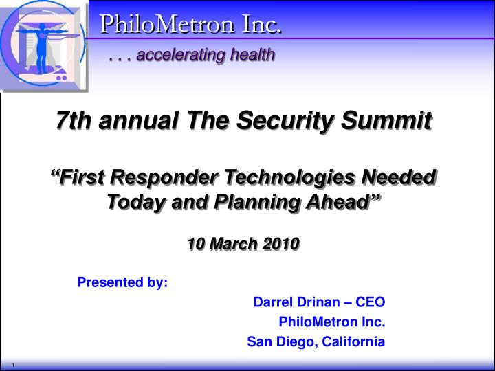 7th annual The Security Summit
