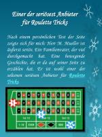 einer der seri sest anbieter f r roulette tricks
