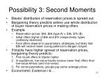 possibility 3 second moments