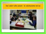 dai valori alle azioni la valutazione nel sz8