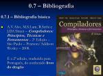 0 7 bibliografia