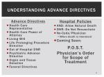 understanding advance directives