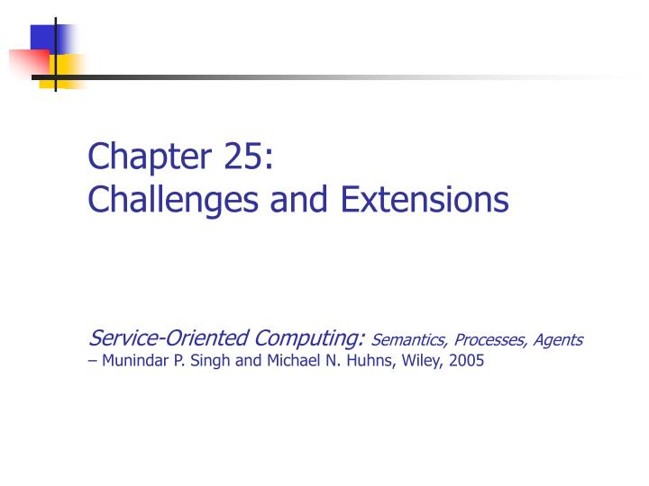 chapter 25 challenges and extensions n.