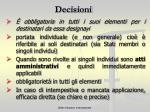 decisioni