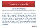 programmi educativi