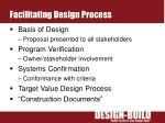 facilitating design process