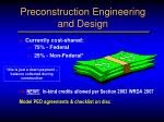 preconstruction engineering and design