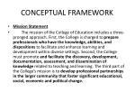 conceptual framework1