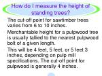 how do i measure the height of standing trees3