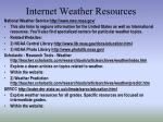 internet weather resources1