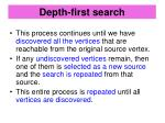 depth first search1