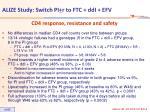 alize study switch pi r to ftc ddi efv3
